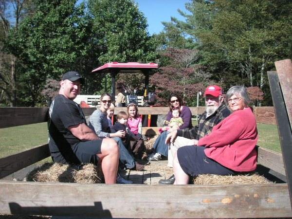 Hayride at Arrowmont Stables Cashiers NC